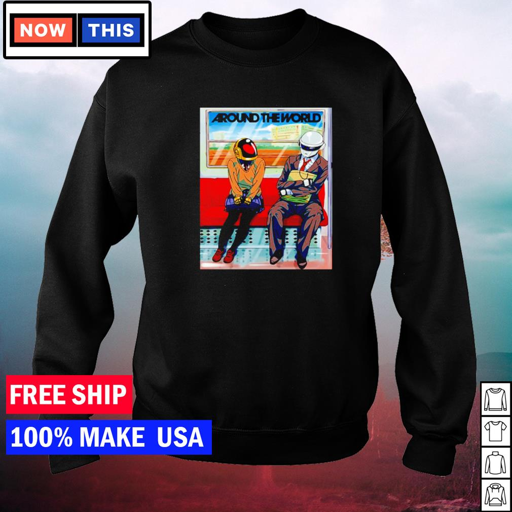 Daft Punk around the world s sweater