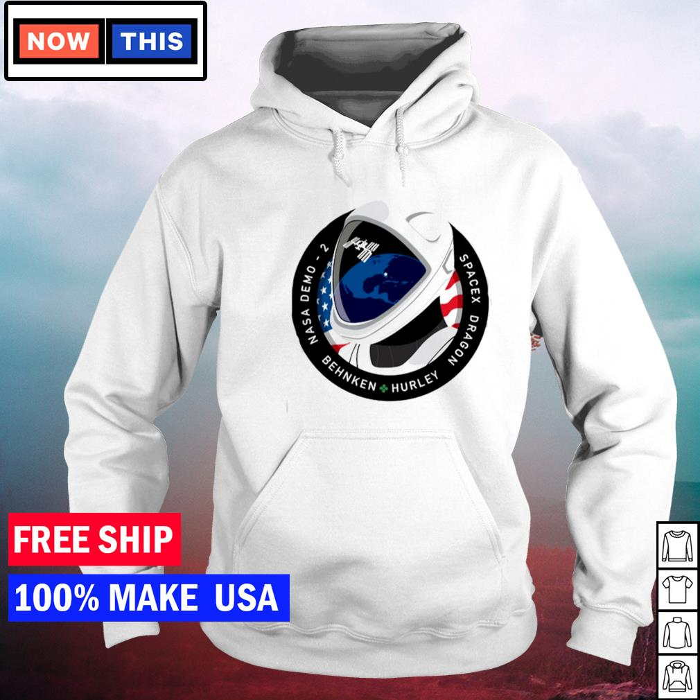 Nasa demo 2 behnken hurley spacex dragon s hoodie