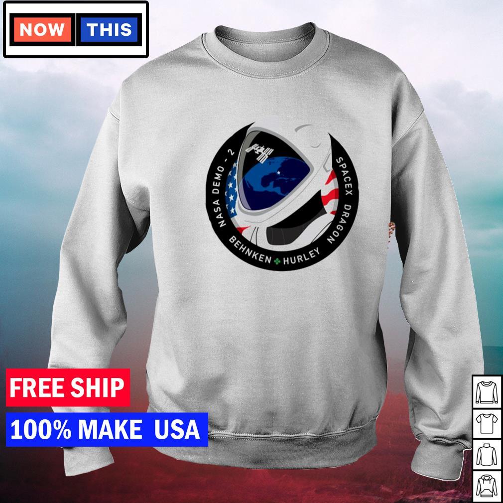Nasa demo 2 behnken hurley spacex dragon s sweater