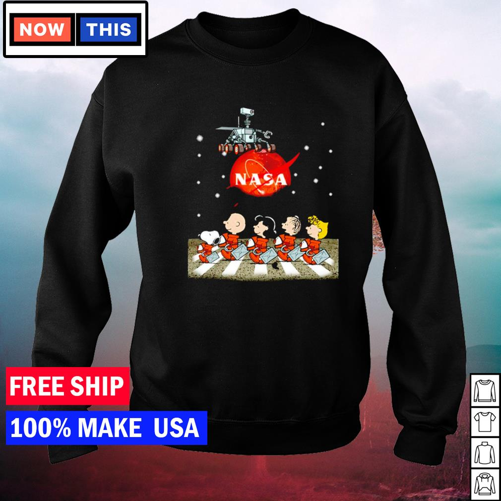 Nasa Mars perseverance Snoopy Abbey Road s sweater