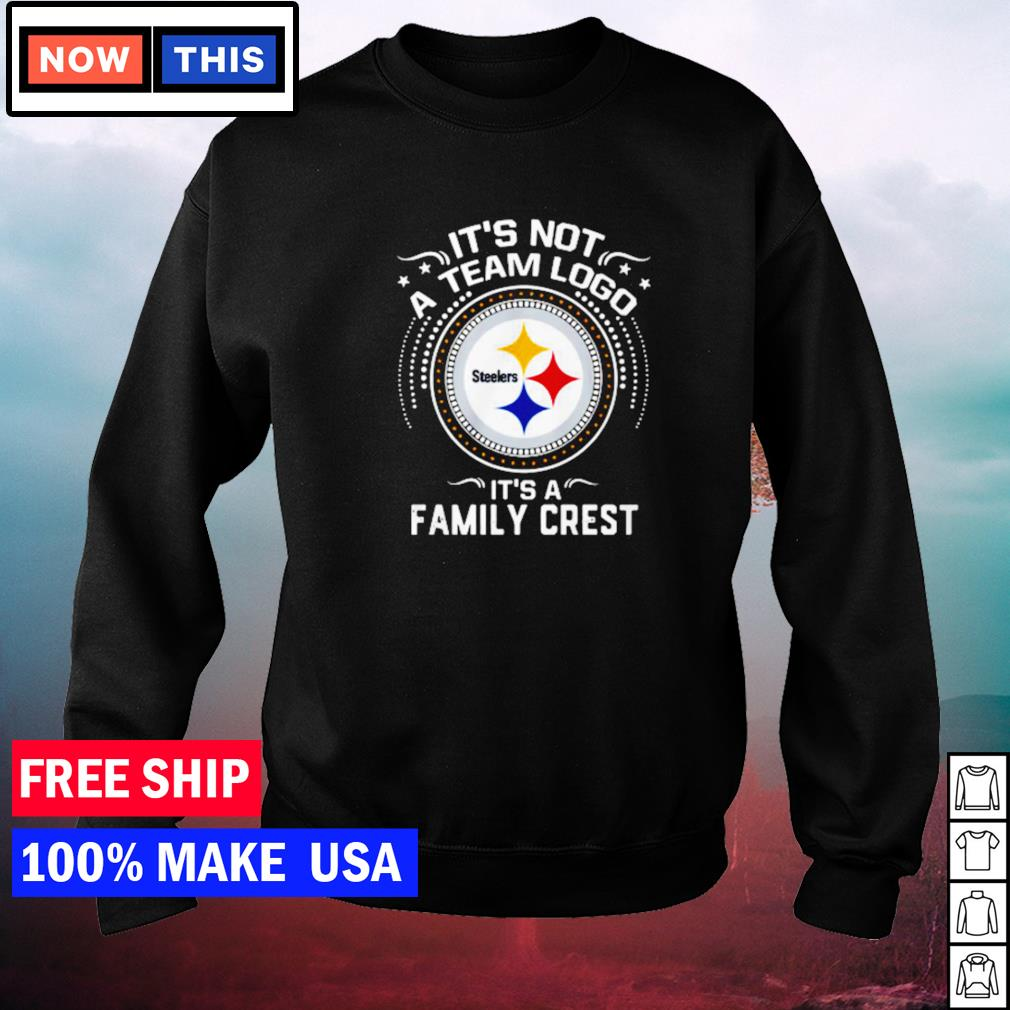 Pittsburgh Steelers it's not a team logo it's a family crest s sweater