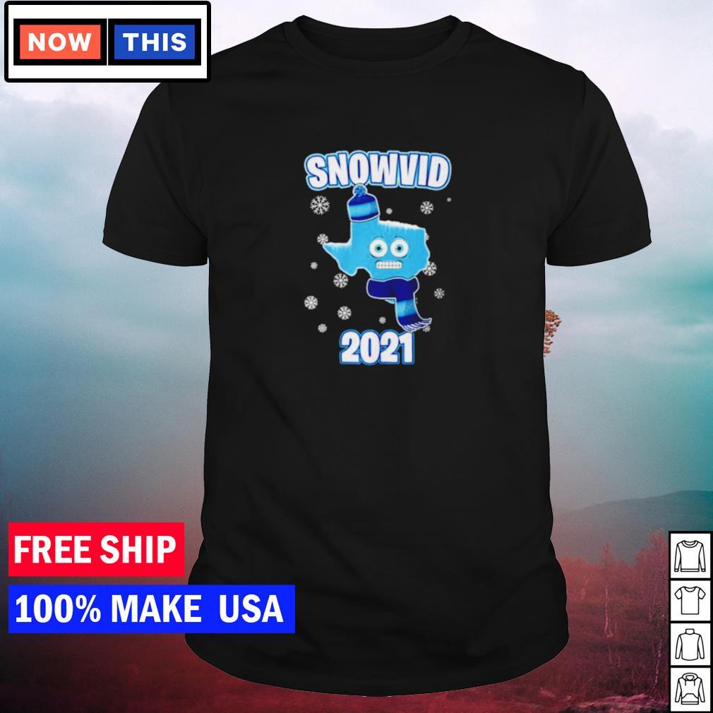 Snow Texas snovid 2021 shirt