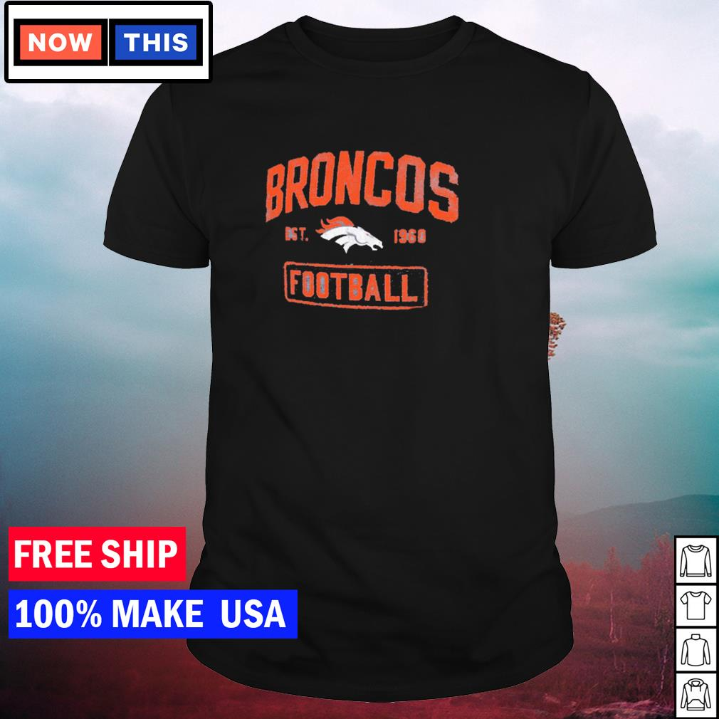Denver Broncos est 1960 Football NFL shirt