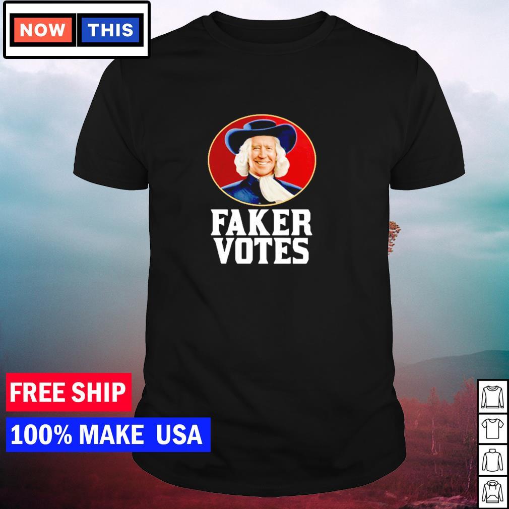 Joe Biden faker votes American President shirt