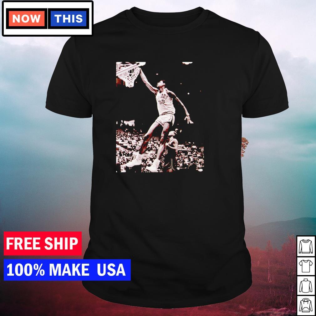 Kareem Abdul Jabbar dunk shirt
