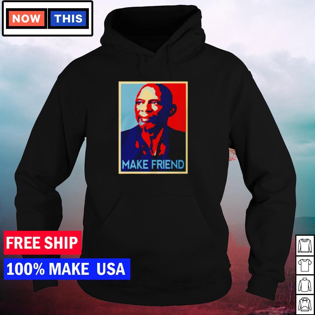 Kareem Abdul-Jabbar make friend s hoodie