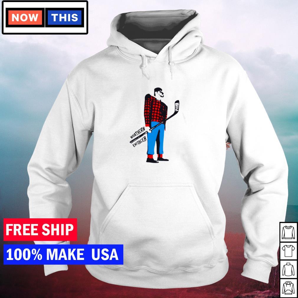Northern enforcer hockey s hoodie