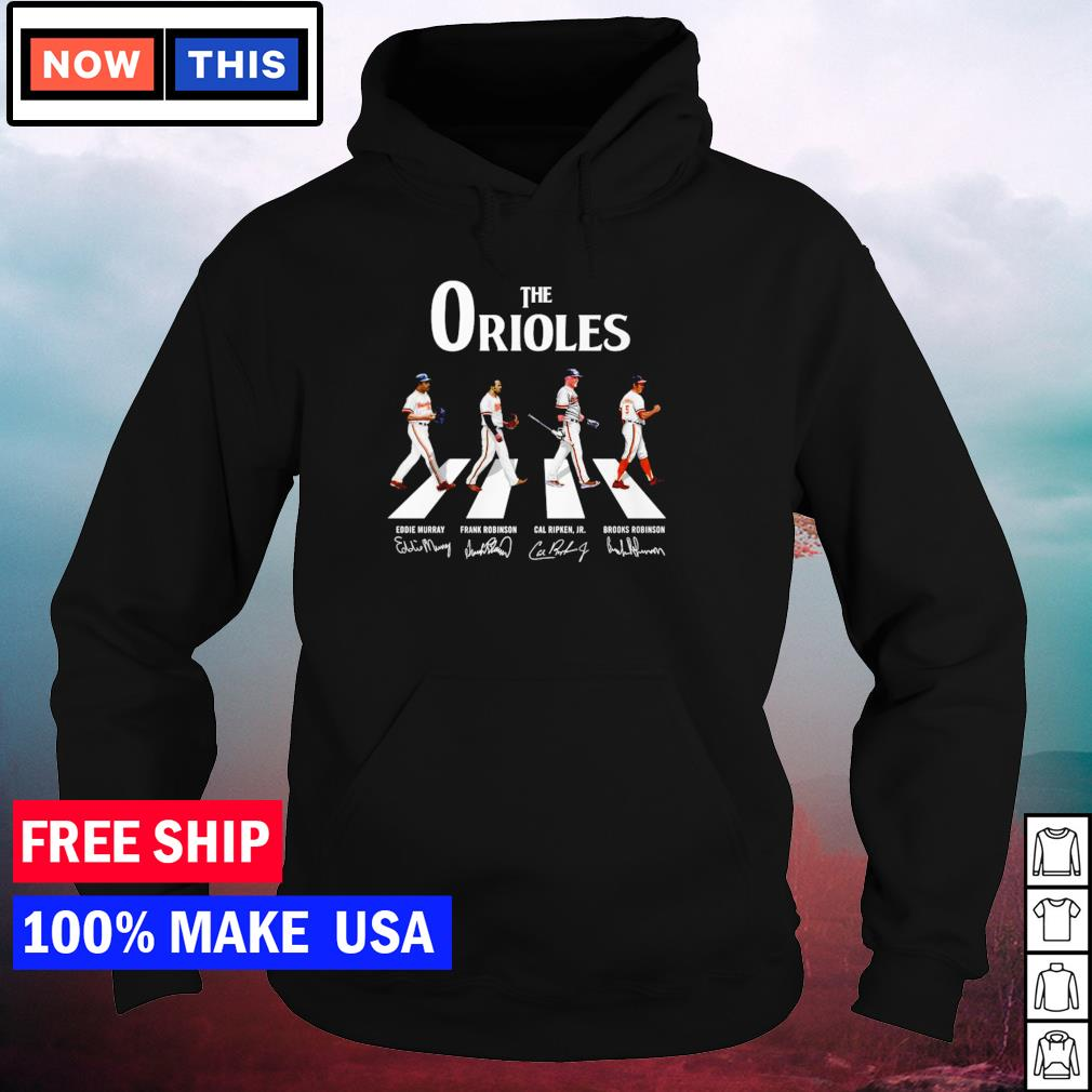 The Baltimore Orioles Abbey Road signature s hoodie