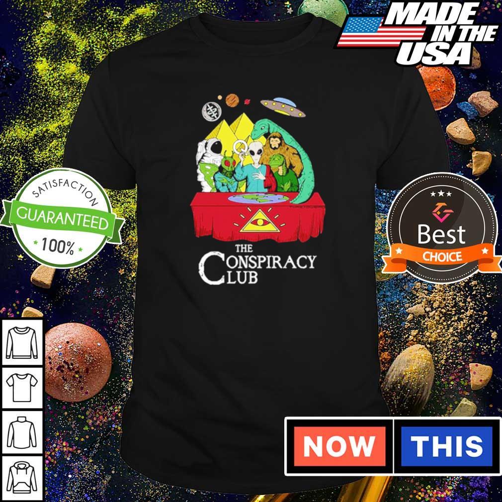 Alien the conspiracy club shirt
