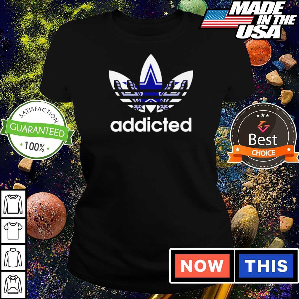 Dallas Cowboys Adidas addicted s ladies tee