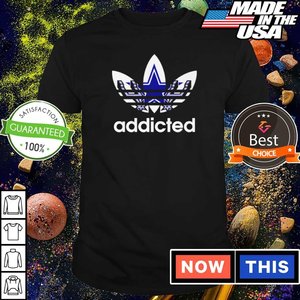 Dallas Cowboys Adidas addicted shirt