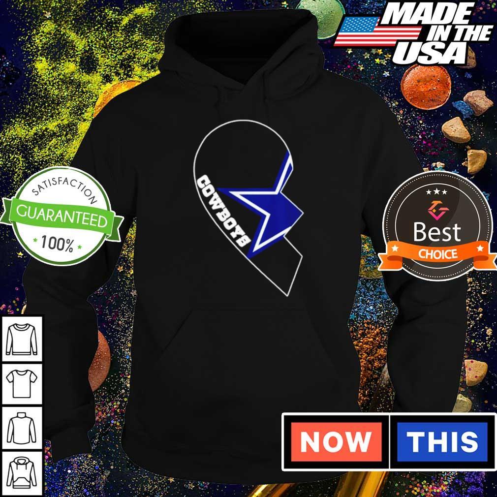 Dallas Cowboys haft heart s hoodie