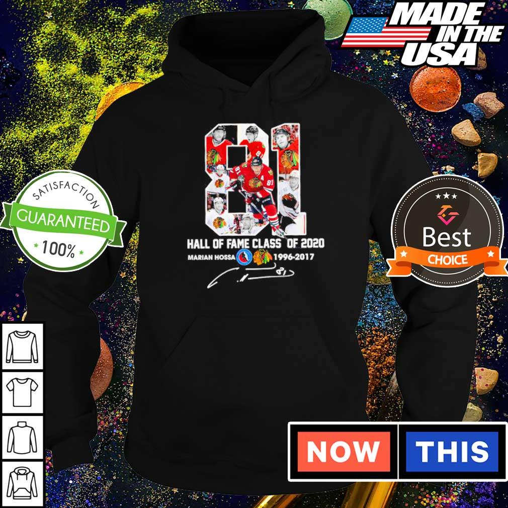 Marian Hossa hall of fame class of 2020 1996 2019 s hoodie