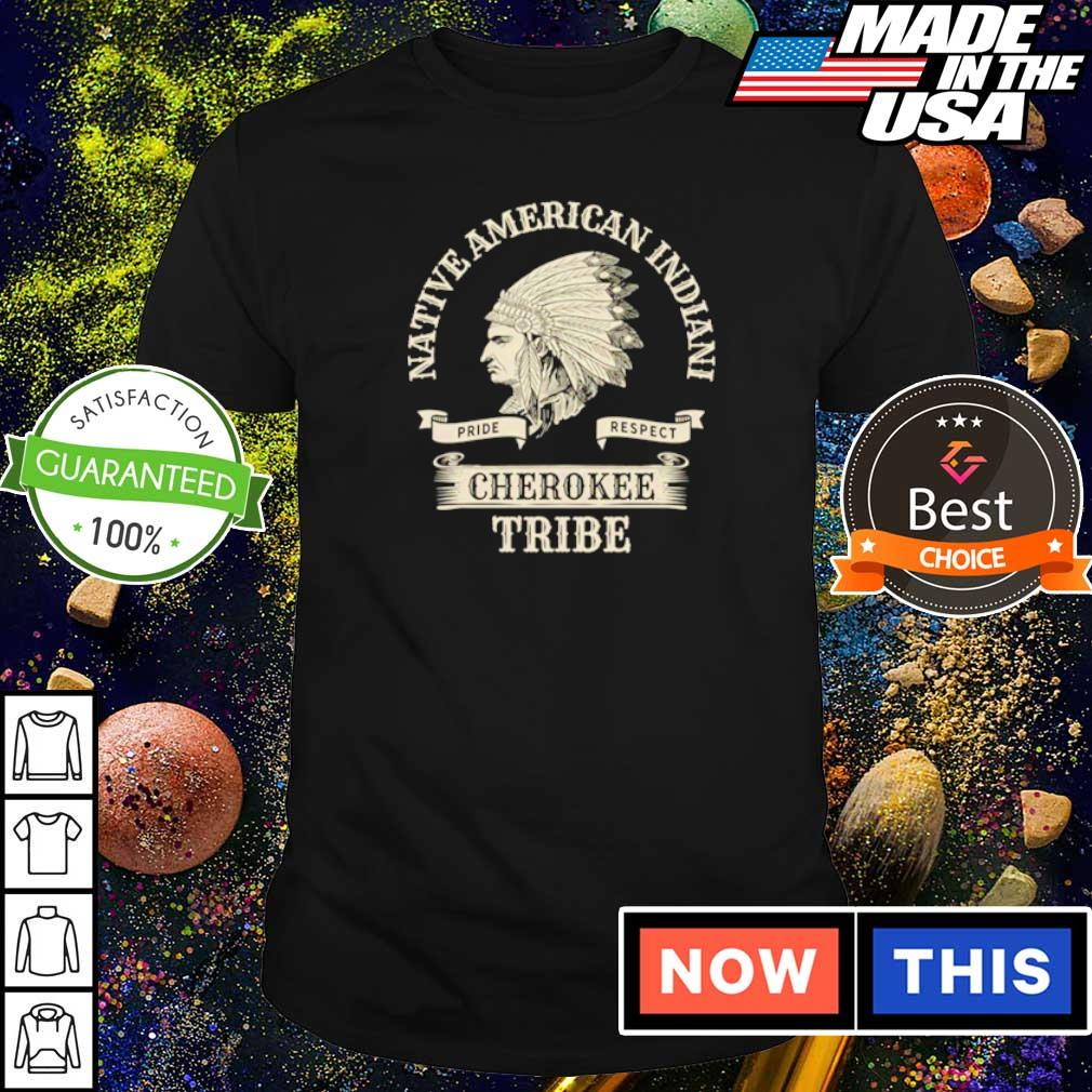 Native American Indian cherokee tribe shirt