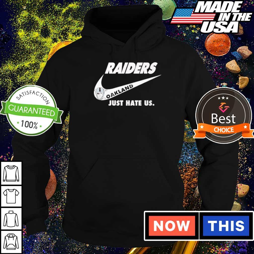 Nike Oakland Raiders just hate us s hoodie