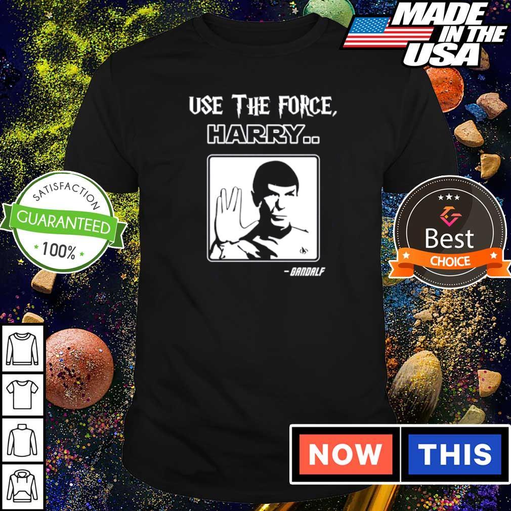 Bandalf úe the force Harry shirt