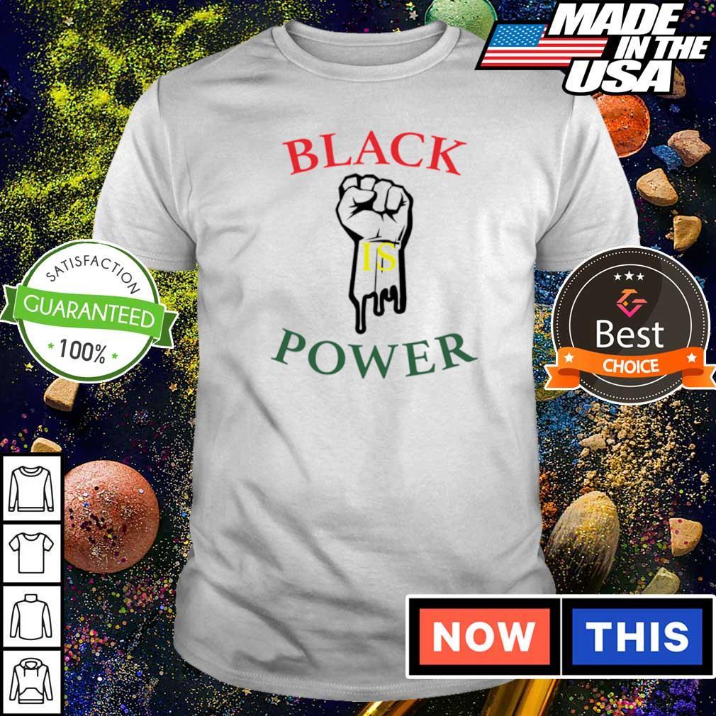 Black is power shirt