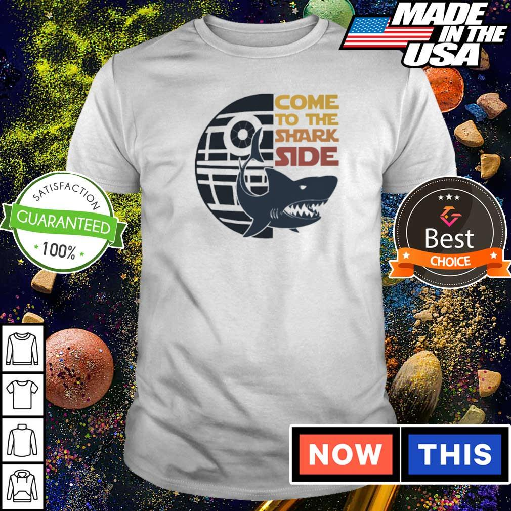Death Star come to the Shark side shirt