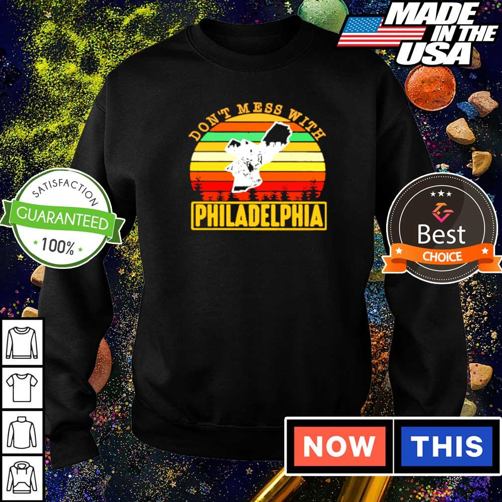 Don't mess with Philadelphia vintage s sweater