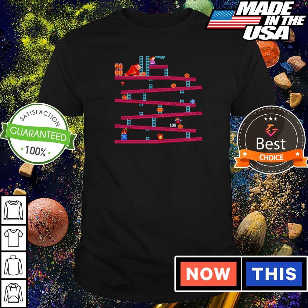 Donkey Kong Barrel Jumper shirt