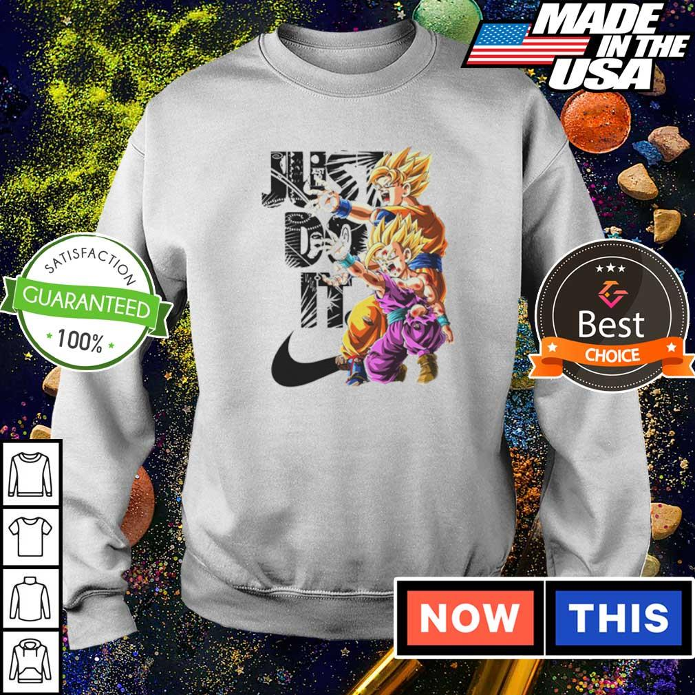 Dragon Ball Goku and Gohan Just Do It s sweater