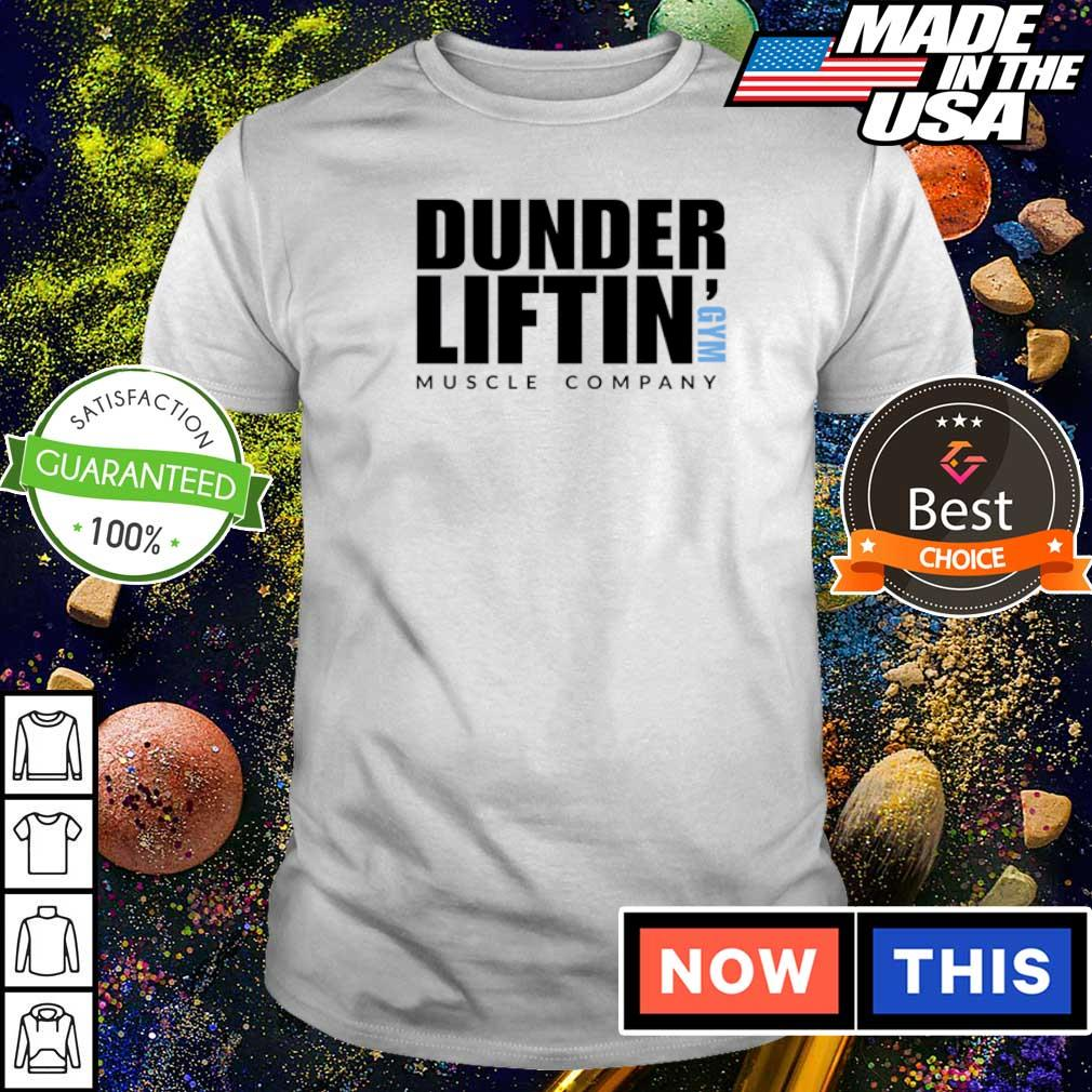 Dunder Liftin' GYM muscle company shirt