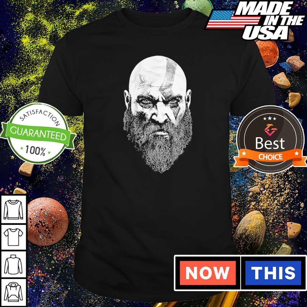 God of War Kratos Bearded God shirt