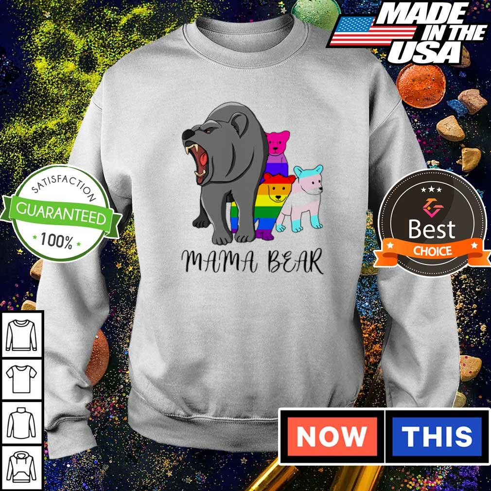 LGBT pride mama bear s sweater