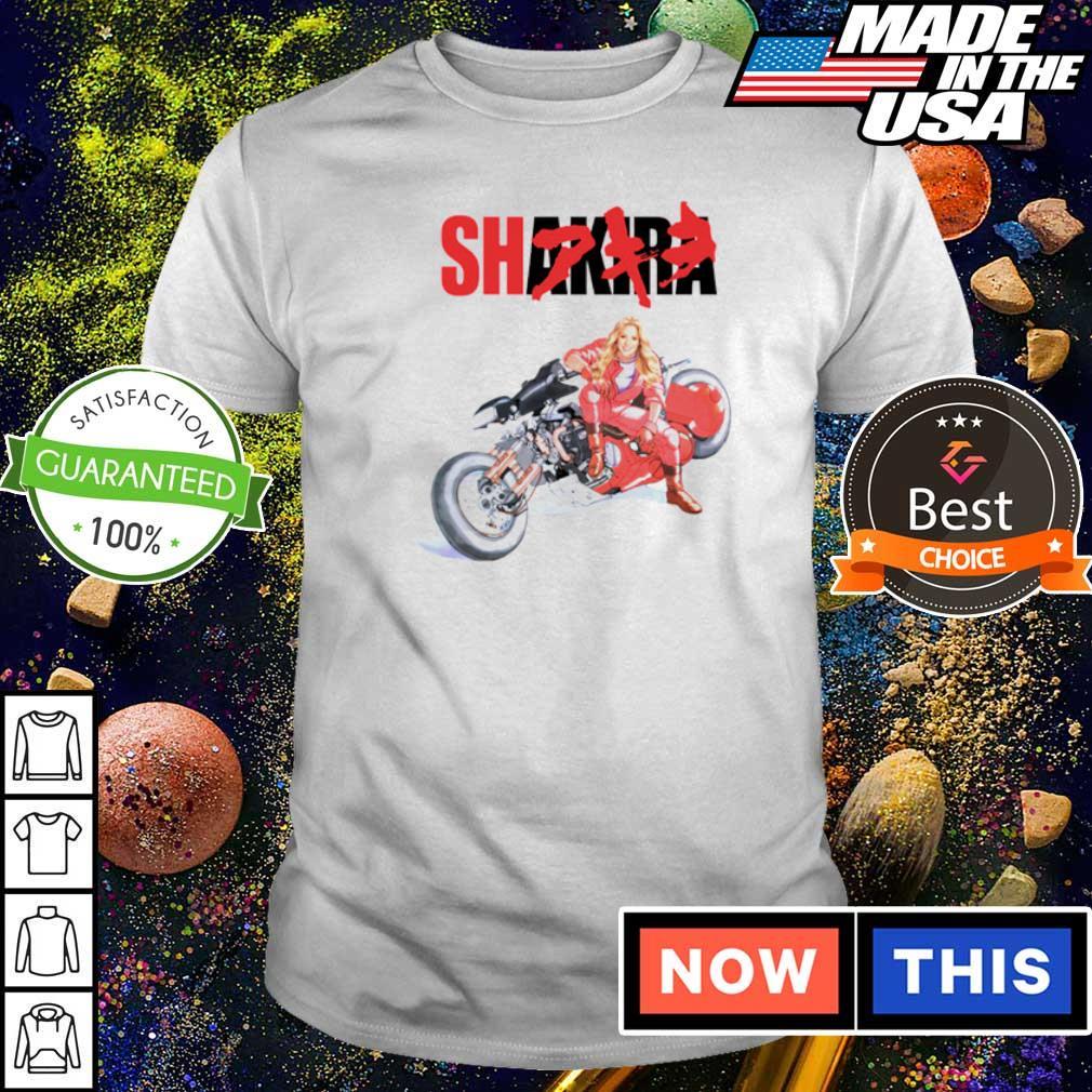 Motorcycle Shakira shirt