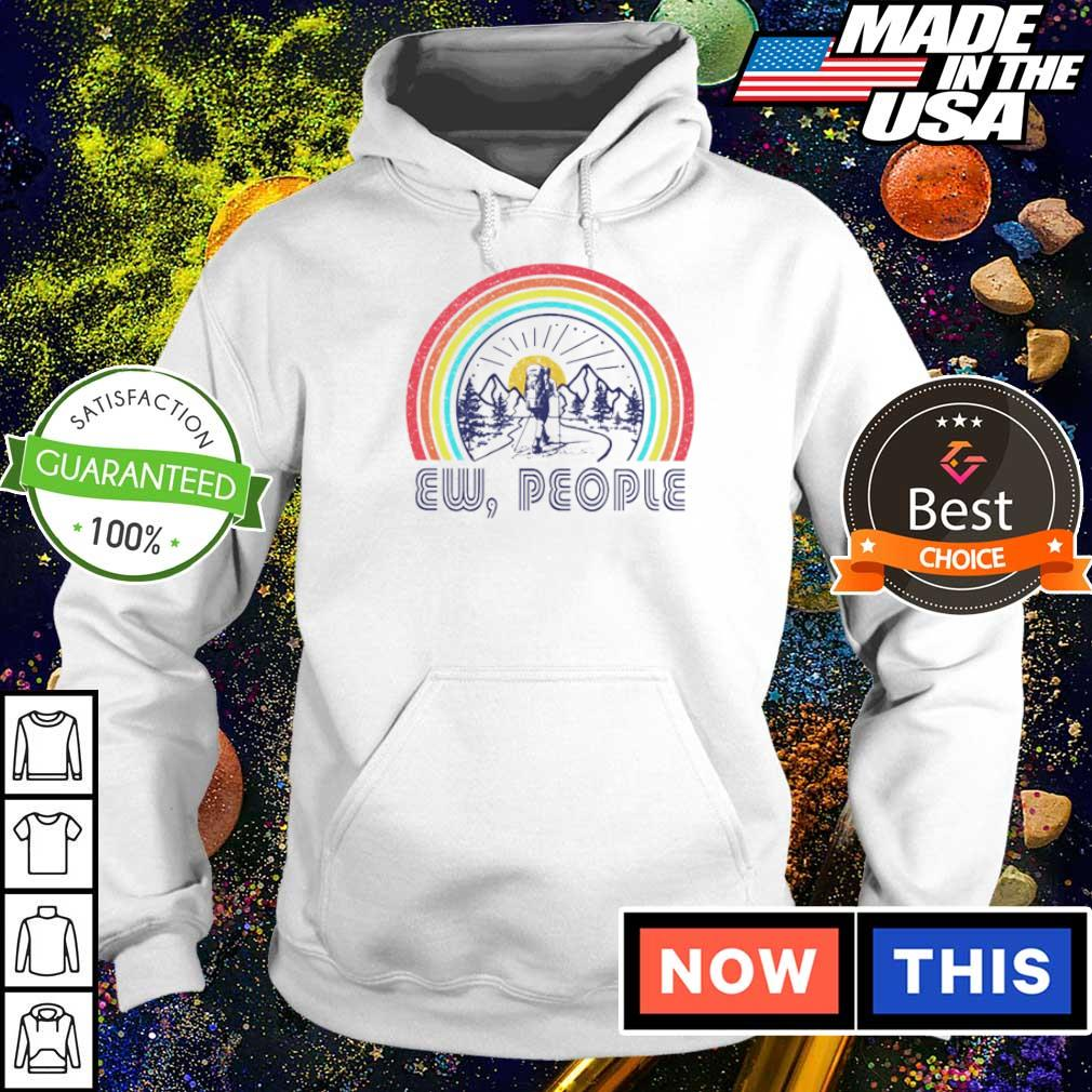 Mountain rainbow ew people s hoodie