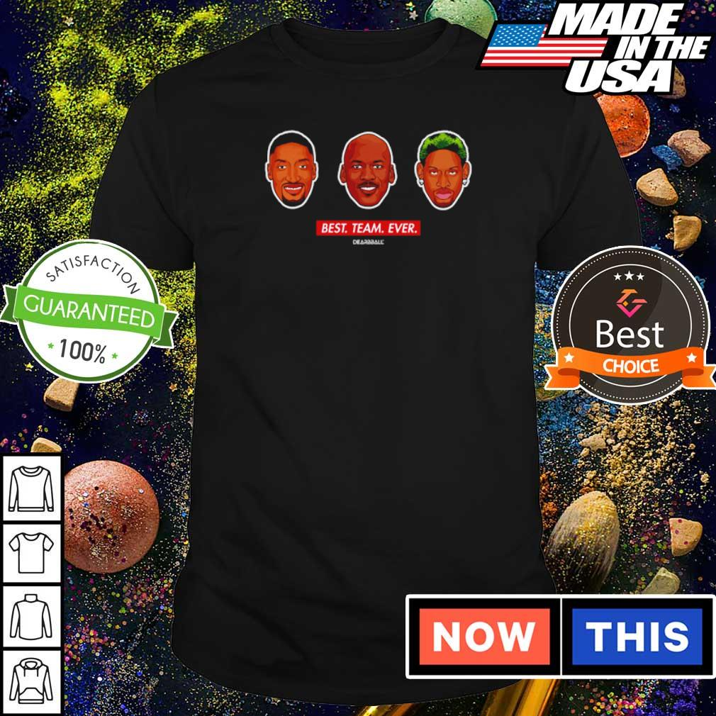 NBA players Best Team Ever shirt
