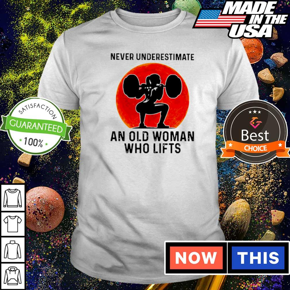 Never underestimate an old woman who lifts shirt