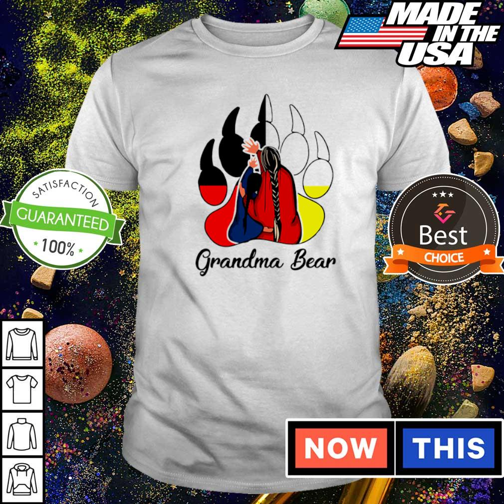Red Indian Grandma bear shirt