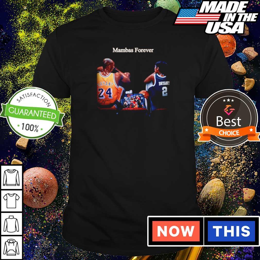 RIP Kobe Bryant mambas forever shirt