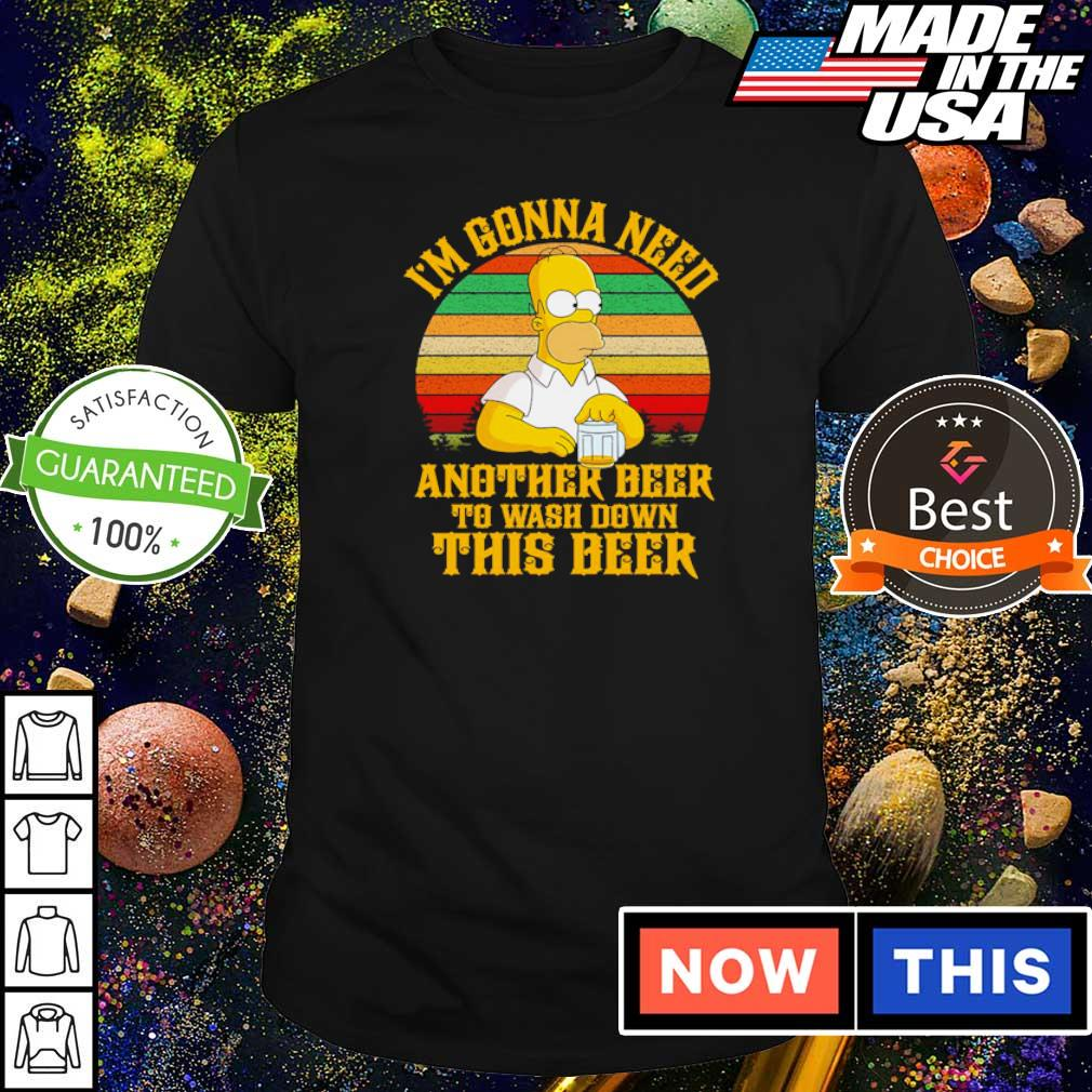 Simson I'm gonna need another beer to wash down this beer vintage shirt