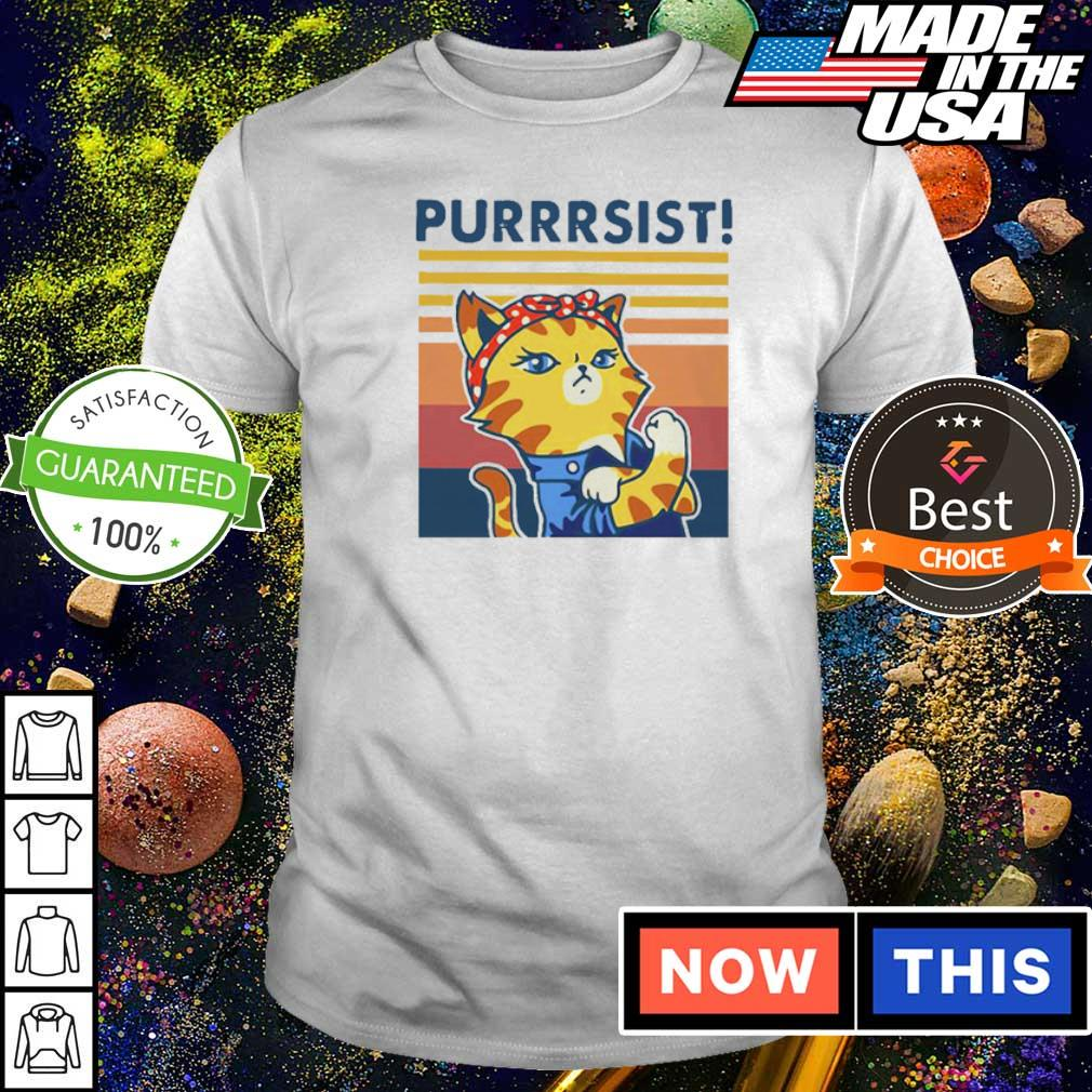 Strong Cat Purrsist Vintage Shirt