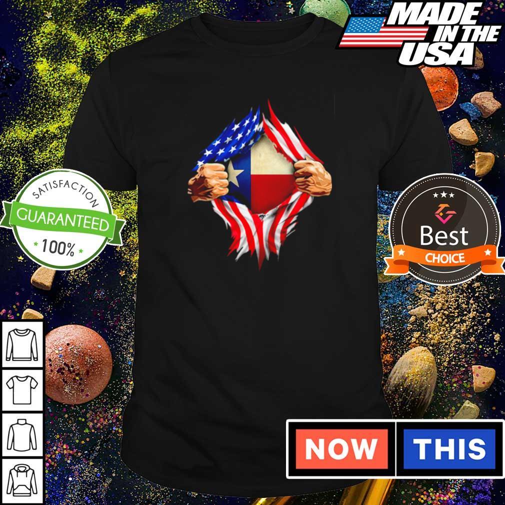 Superman American Flag shirt