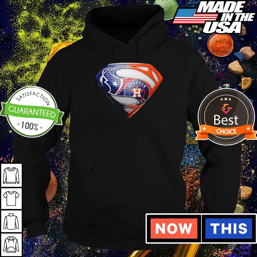 Superman Houston Texas vs Houston Astros s hoodie