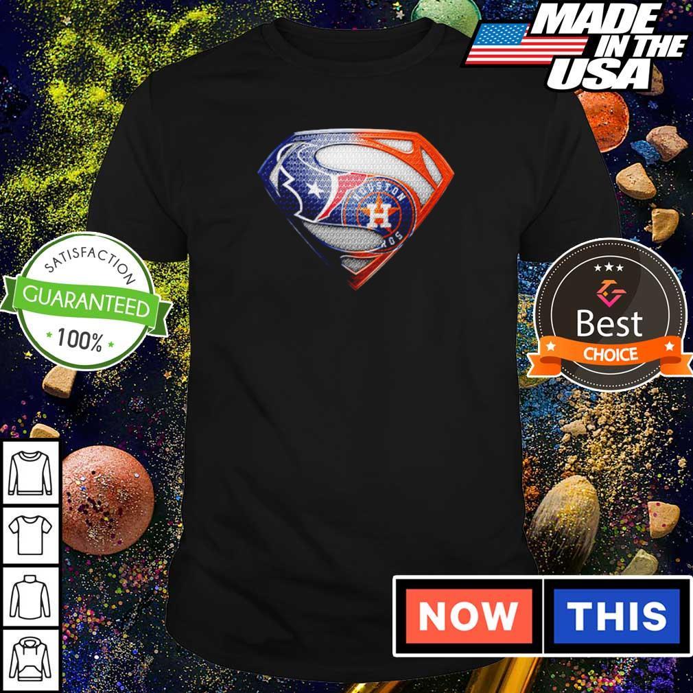 Superman Houston Texas vs Houston Astros shirt