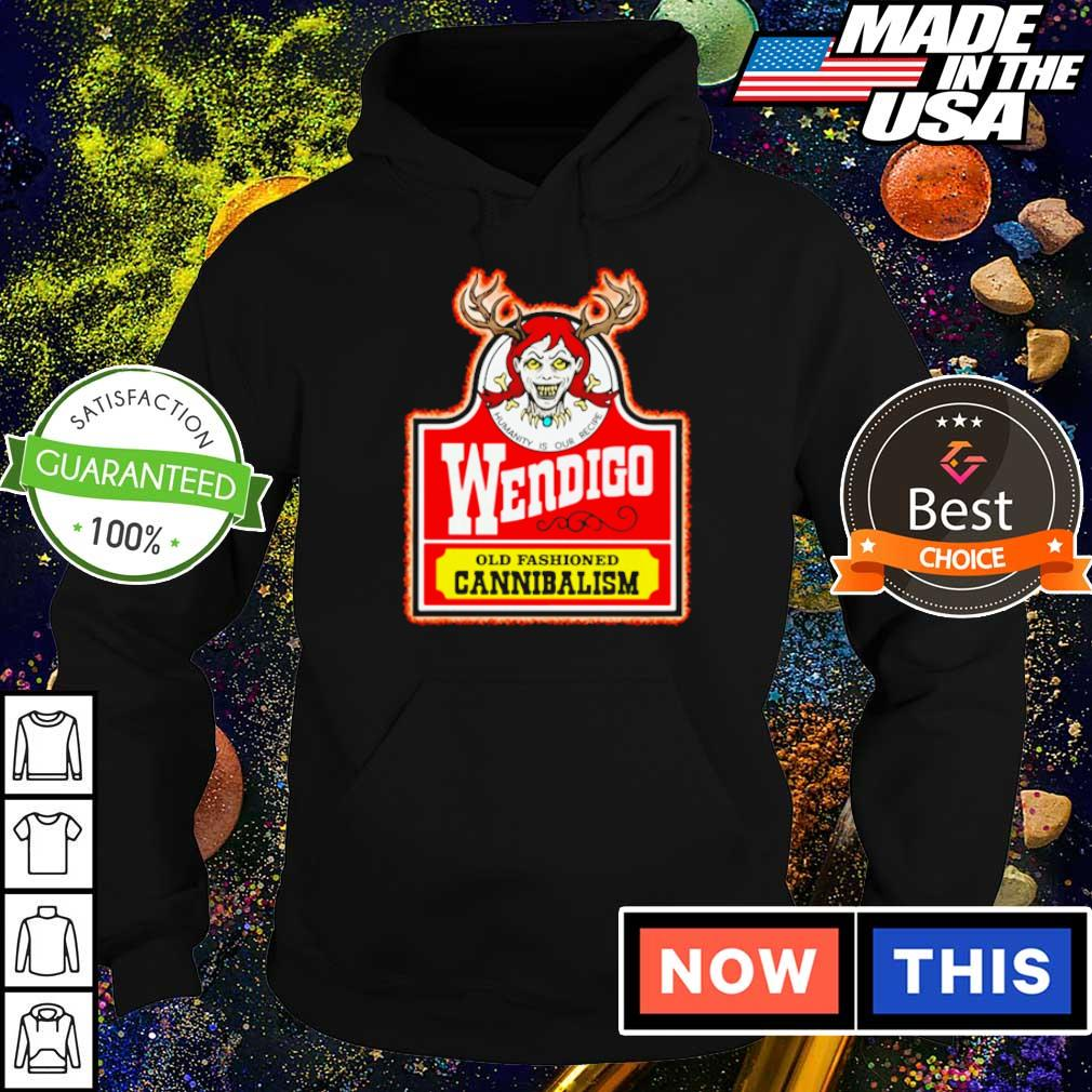 Wendiga old fashioned cannibalism s hoodie