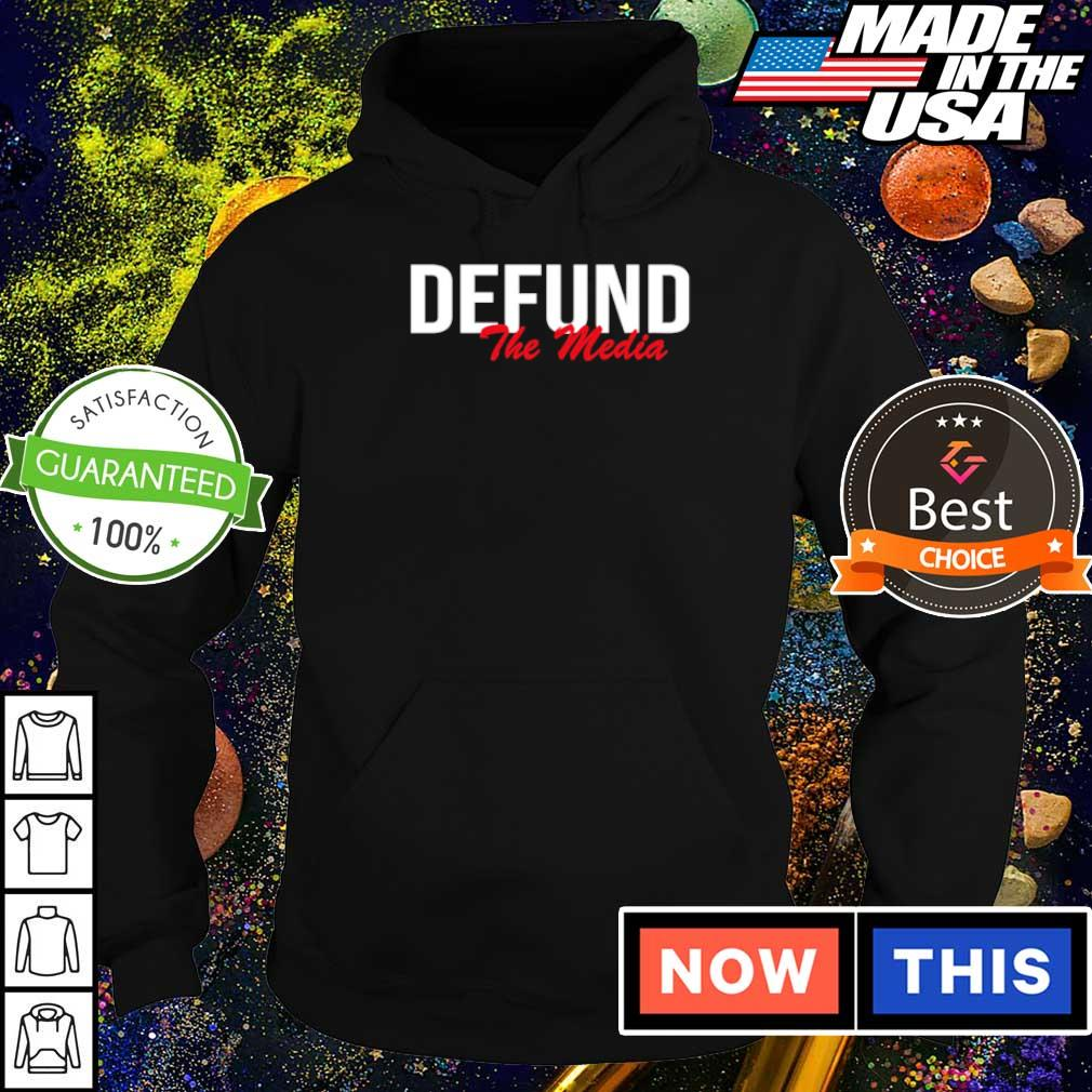 Awesome Defund The Media s hoodie