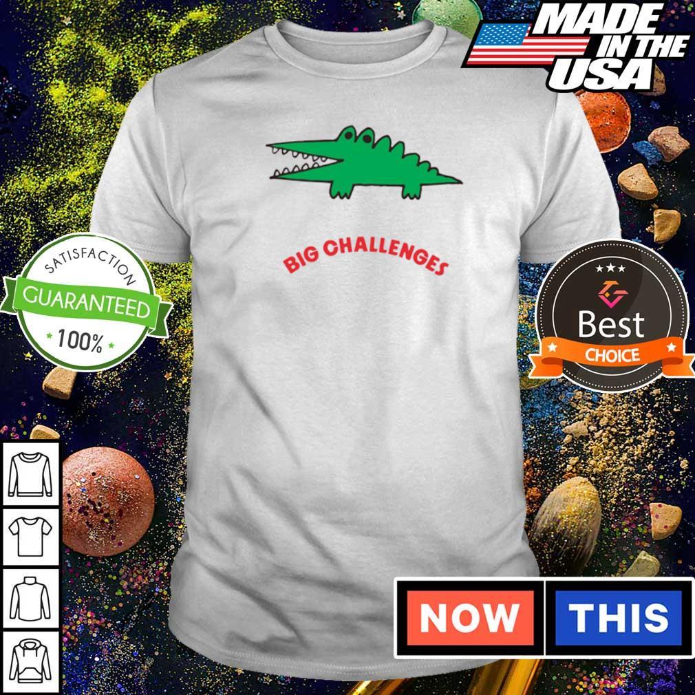 Crocodile Big Challenges shirt