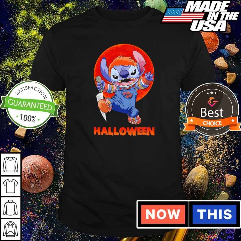 Halloween Stitch red moon shirt