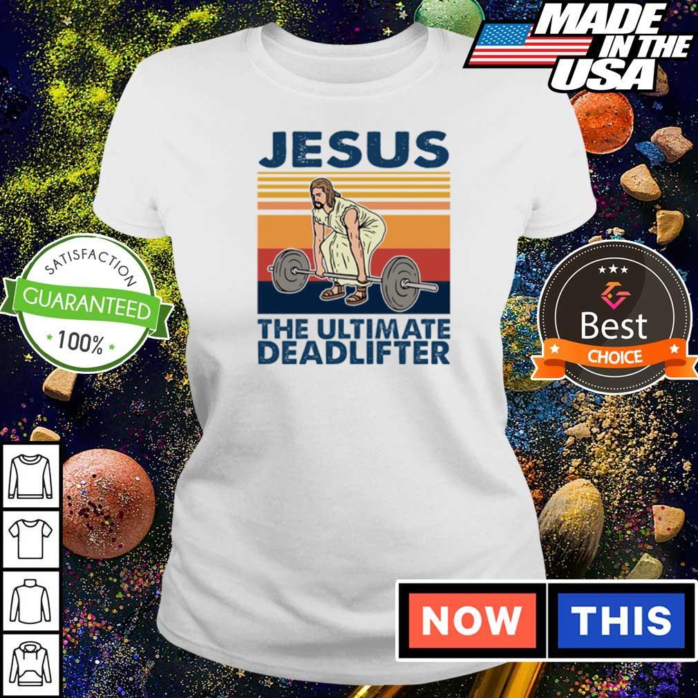 Jesus the ultimate deadlifter vintage s ladies