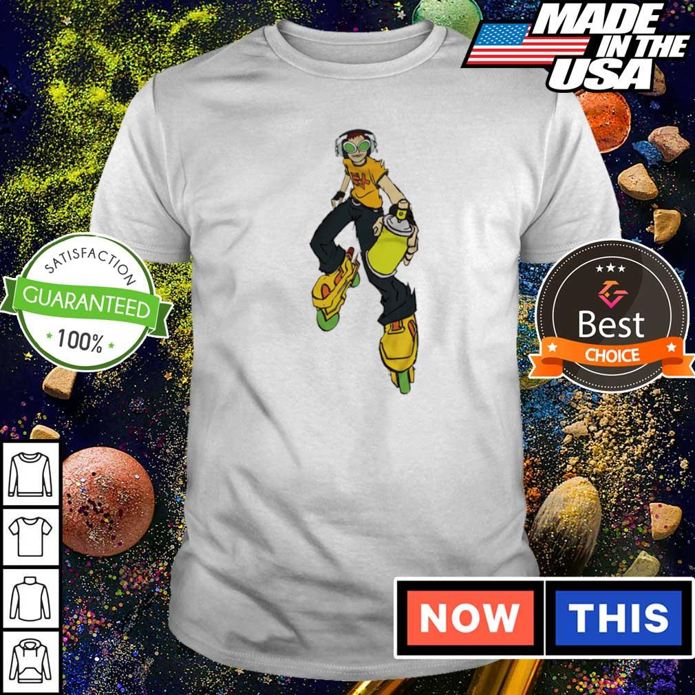Jet Set Radio Tag You're It shirt