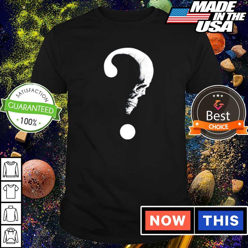 Moon skull big question shirt