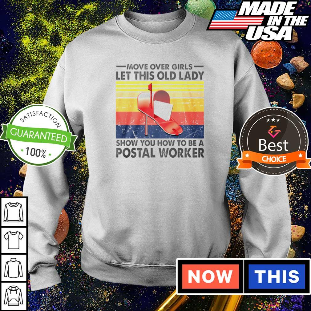 Move over girls let this old lady show you how to be a Postal Worker s sweater