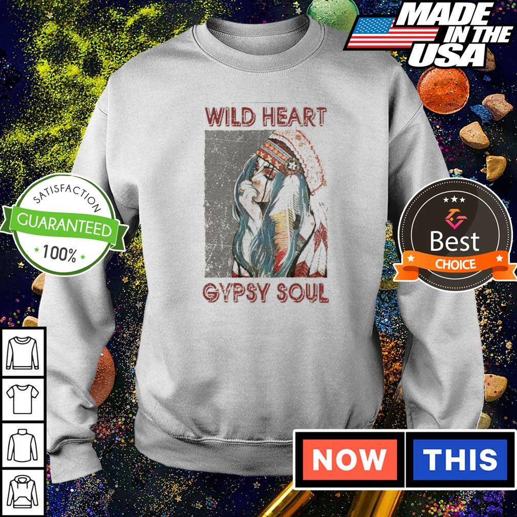 Official wild heart gypsy soul s sweater