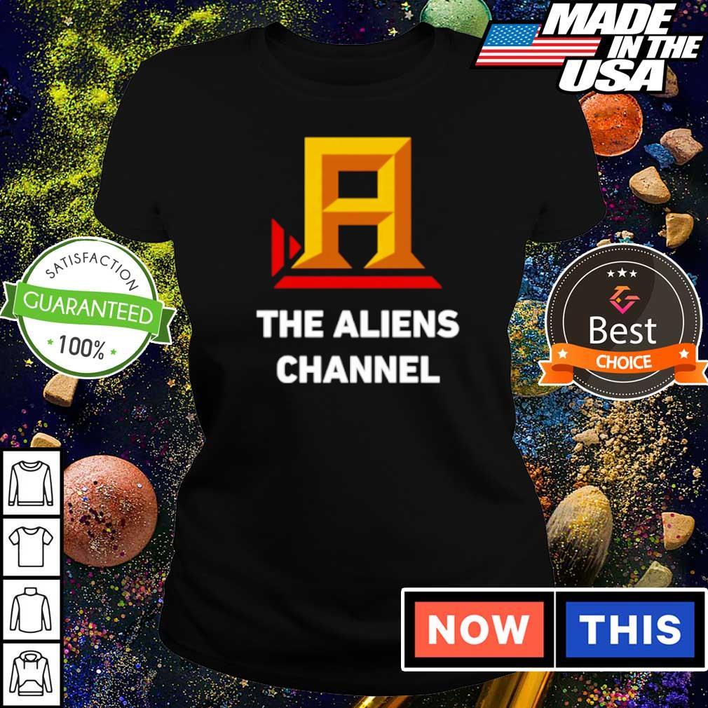 The Aliens Channel s ladies tee