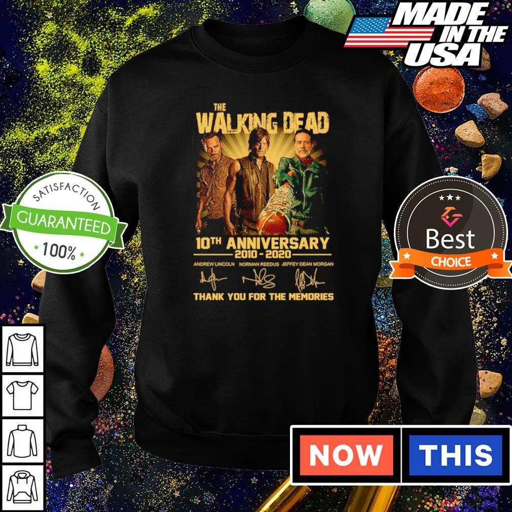 The Walking Dead 10th anniversary thank you for the memories s sweater